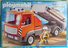 PLAYMOBIL 6861 CITY ACTION le camion de chantier ouvrier tractopelle