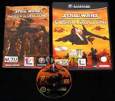STAR WARS LA GUERRA DEI CLONI GameCube Versione Italiana  ••••• COMPLETO