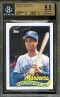 Ken Griffey Jr. Rookie Card 1989 Topps Traded #41T BGS 9.5 (10 9 9.5 9.5)