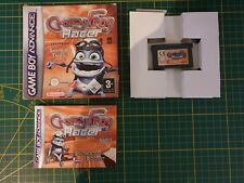 GAME BOY GAMEBOY ADVANCE GBA BOXED BOITE CRAZY FROG RACER FT THE ANNOYING THING
