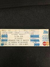 Elton John Arrowhead Pond of Anaheim Vintage Concert Ticket 8/21/1998