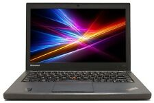 "C Grade Lenovo ThinkPad X240 12.5"" Intel i5 8GB RAM 320GB HDD WiFi Win 10 Laptop"