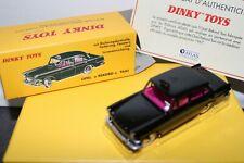VOITURE DINKY TOYS ATLAS TAXI 1967 OPEL REKORD N°546 EN BOITE + CERTIFICAT
