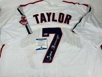 """Tom Berenger Signed """"Major League"""" Indians Baseball Jersey Autograph Beckett COA"""