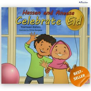 Hassan and Aneesa Celebrate Eid Yasmeen Rahim (Paperback) Childrens Islamic Book