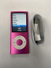Apple iPod Nano 4th Generation 8GB MP3 AAC Player A1285 Pink