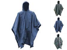 Mil-Tec Vinyl Poncho 1,5mm Regenjacke Regenmantel Regenkleidung Regen Jacke