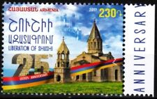 ARMENIA 2017-24 Liberation of Shusi. War Archtecture Church, MNH