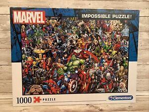 Clementoni Marvel Impossible Puzzle 1000 Pieces 39411