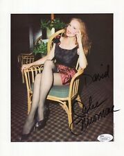 JULIE NEWMAR AUTHENTIC SIGNED 8x10 PHOTO+JSA      GORGEOUS+SEXY LEGS    TO DAVID