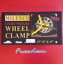 MILENCO LIGHTWEIGHT WHEEL CLAMP - INSURANCE APROVED