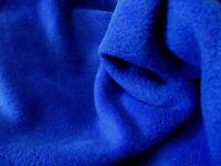 QUALITY Anti Pil Polar Fleece Fabric Material - ROYAL BLUE