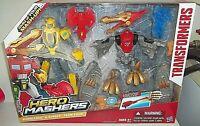 Transformers Hero Mashers Bumblebee & Strafe Team Pack - NEW
