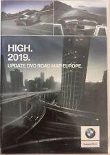 BMW Navigation High Road Map Europe 2019 BEST ON EBAY (Inc free V32.2 Update CD)