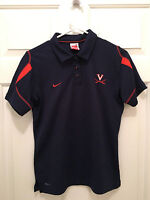 University of Virginia UVA Cavaliers Womens Lacrosse Team Issued Nike Shirt XL