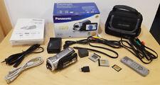 Panasonic HDC-SD9 Full HD Videokamera 1920x1080P HDC-SD9EG-S OVP Zubehörpaket