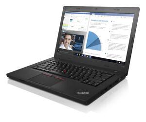 "PC notebook Lenovo ThinkPad L460 Intel i5-6300U 3Ghz 8GB 256GB SSD Webcam Win10"""