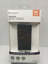 Targus Universal Laptop Computer Charger Adapter 90W Acer Asus Dell HP Lenovo
