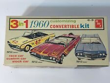 Vintage AMT 1960 Ford Convertible 3 in 1 Custom Model Car BOX ONLY