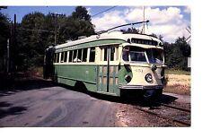 1949 President Conference Car Trolley-East Windsor-Connecticut-Modern Postcard