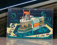 Vintage Matchbook K6 Mid Century Las Vegas Nevada Showboat Hotel Casino Vivid