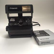 Vintage Polaroid 600 One Step Flash *TESTED* Plus Film