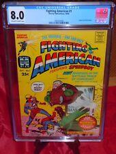Fighting American #1 CGC 8.0 (VF) Harvey Comics 1966 by Jack Kirby