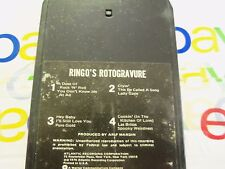 Ringo's Rotogravure Soundtrack  8 Track Stereo Tape Cartridge (Beatles Star) FAB