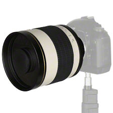 Walimex Pro 800 / 8.0 DX Mirror Lens for Nikon 800mm Birdwatching Planes Spottin
