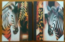 """Zebra Wall Art Picture Home  decor   20""""x16"""" inch"""