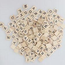 400*wooden Scrabble Tiles letters Wedding Magnets Pendants Craft Scrapbooking