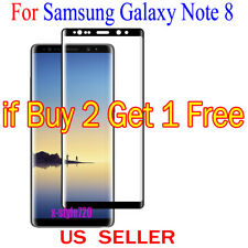 1x Full Cover Curved Clear Screen Protector Guard Film For Samsung Galaxy Note 8