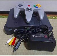 Nintendo 64 Console Controller Grey Japanese