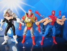 1994 ToyBiz Spider-Man Animated Series Doppelganger Iron Man Action Figure