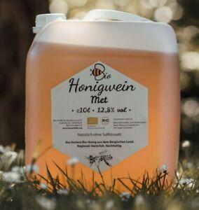 Imker MET, Bio Honigwein, köstlich, ohne Sulfitzusatz, 12,8% alc., 10L