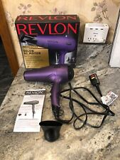 Revlon Pro Collection Salon AC Motor Hair Dryer Purple Model RVDR5141