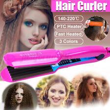 Hair Curling Iron Ceramic Hair Crimper Curler Wand Crimping Perm Splint Salon