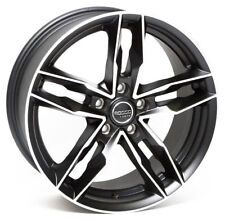 "18"" BMF ROSSO RR8 ALLOY WHEELS FITS 5X100 AUDI A1 A3 VW BORA POLO GOLF VENTO"