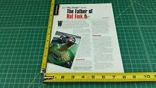 "1997 Harley-Davidson Ed ""Big Daddy"" Roth ""Rat Fink"" 1-Page Article and Photo"