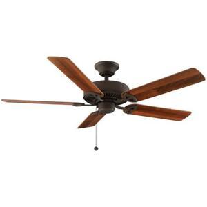 Farmington 52 in. Indoor Oil Rubbed Bronze Ceiling Fan 32760