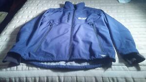 Mustaghata Volcano Men's Blue XL Full Zip Athletic Ski Jacket Coat 25P-P, 30.5L