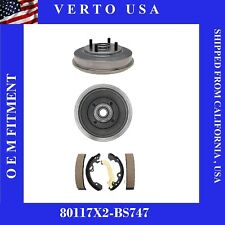 Brake Drums & Shoes For Ford Focus 2000-2001-2002-2003-2004-2005-2006-2007-2008