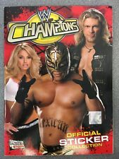 Merlin WWE Champions Official Sticker Collection album 100% Complete 2006