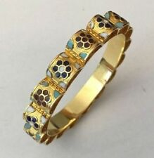 Enamel Bangle Vintage Costume Jewellery (Unknown Period)