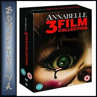 ANNABELLE 3 FILM COLLECTION - 3 MOVIE COLLECTION *BRAND NEW DVD BOXSET **