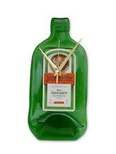 Jagermeister Jager  Bottle Clock, An original,unique and fun bottleclock gift