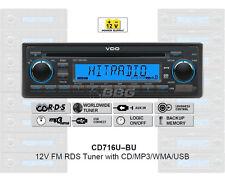 12 Volt PKW Auto Radio, RDS-Tuner, CD, MP3, WMA, USB, 12V CD716U-BU (CD7316U-OR)