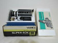 Vintage Yashica Super 40K  8 Super Movie Camera with microphone, manual & box