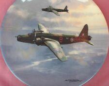 COALPORT ABOVE THE ESTUARY WELLINGTON BOMBER RAF PLANE PLATE REACH FOR THE SKY