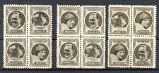 NEDERLAND 1937 ca  12 x  FOTO STAMPS  JULIANA BERNARD   THICK PAPER  PRACHT @1